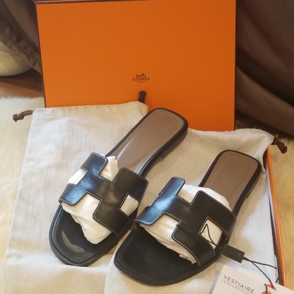 8c9adec62647 Hermes Shoes - Authentic Hermes Oran sandals